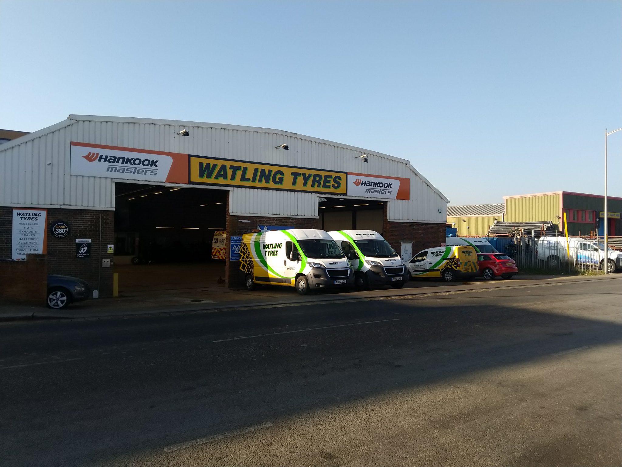 Tyres Ashford   MOTs Ashford   Watling